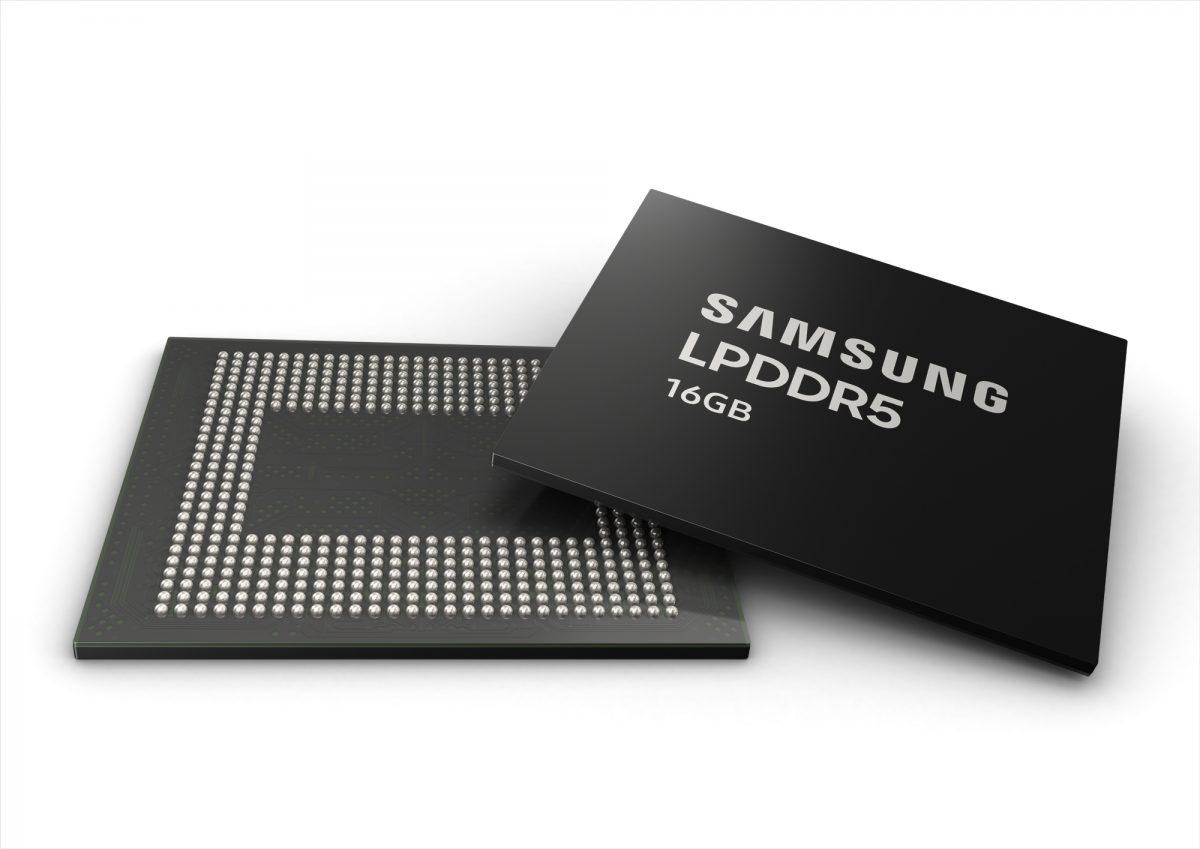 Samsung's 16GB LPDDR5 mobile delivers industry's highest performance